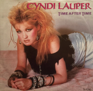 "Cyndi Lauper - Time After Time (12"") (G/G+)"
